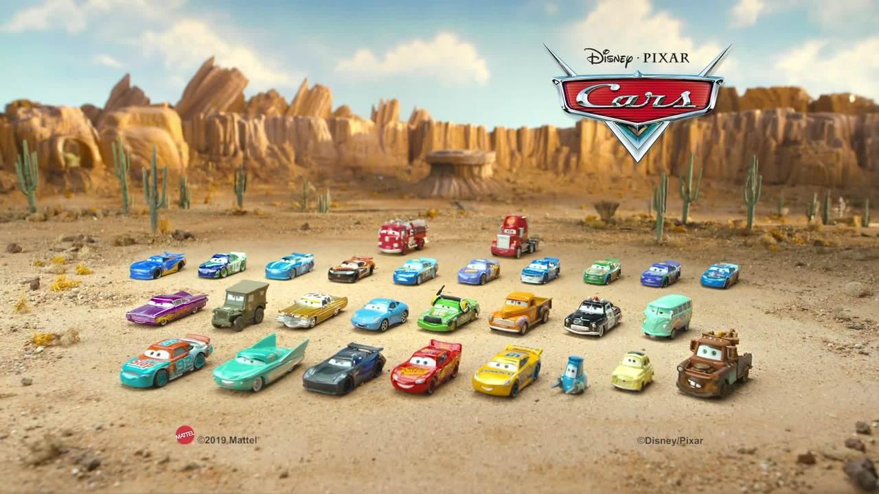 Disney Pixar Cars Race Around Radiator Springs Playset Mattel Kids